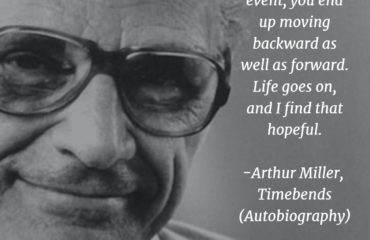 Birthday of Arthur Miller