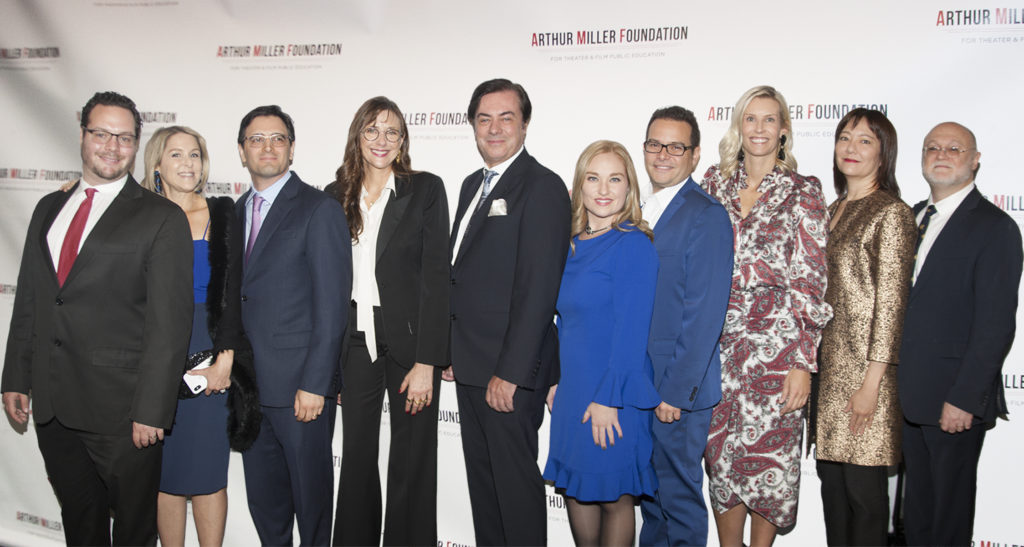 Thank you to everyone who attended out inaugural Arthur Miller Foundation Honors event